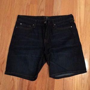Dark denim / jean Bermuda shorts from GAP